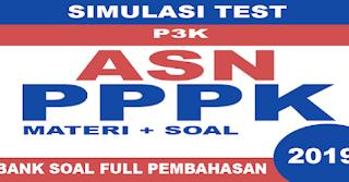 Download Aplikasi ASN PPPK 2019 (Simulasi Test + Materi + Soal)