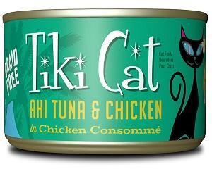 Tiki Cat Luau Ahi Tuna Chicken