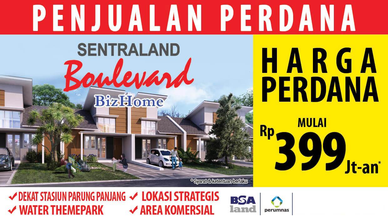 Brosur Sentraland Boulevard Parung Panjang