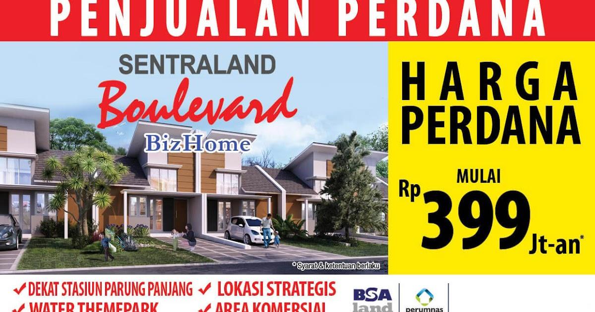 Sentraland Boulevard Parung Panjang, Rumah Baru Dijual Rp ...