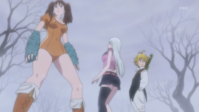 The Seven Deadly Sins terzo episodio