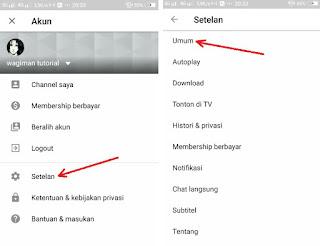 Cara Memblokir Konten Video Dewasa Di Aplikasi Youtube Android
