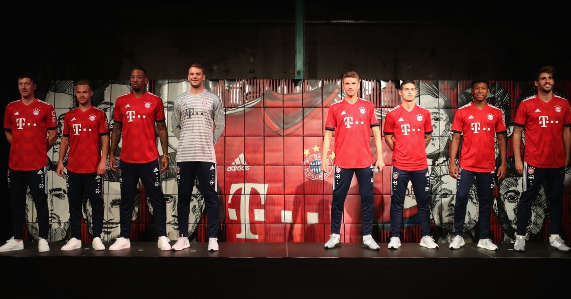 Bayern Munchen 18 19 Home Kit Released Footy Headlines