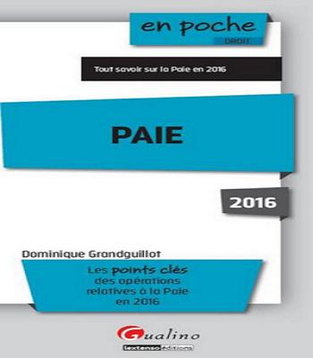 paie 2016 en poche pdf