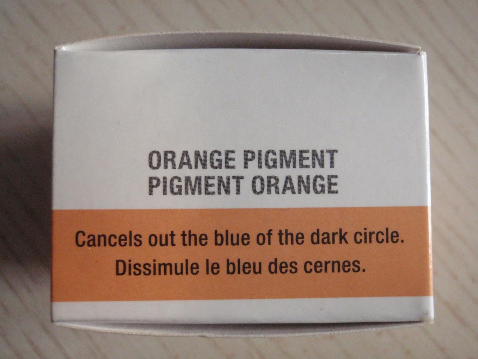 orange concealer