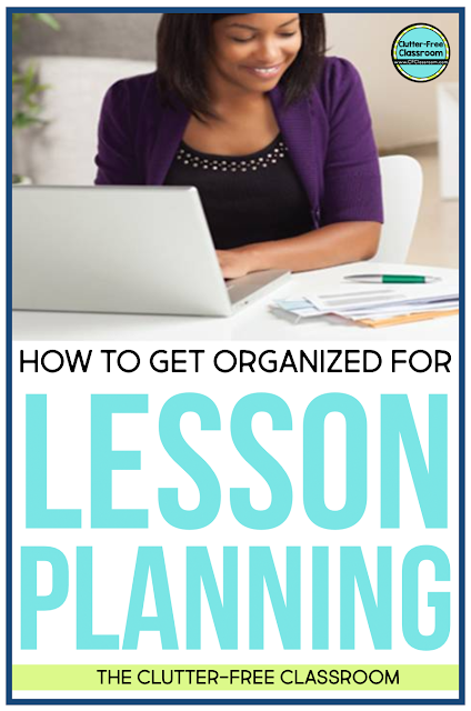 Learn how to manage and organize your lesson plans, teacher planner, resources, paper, and more!
