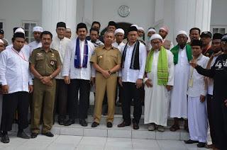 Pemkot Bima Sambut Hangat Kehadiran Ketua GNPF MUI dan Rombongan