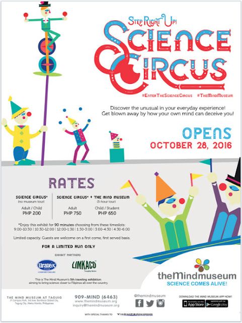 The Mind Museum: #EnterTheScienceCircus