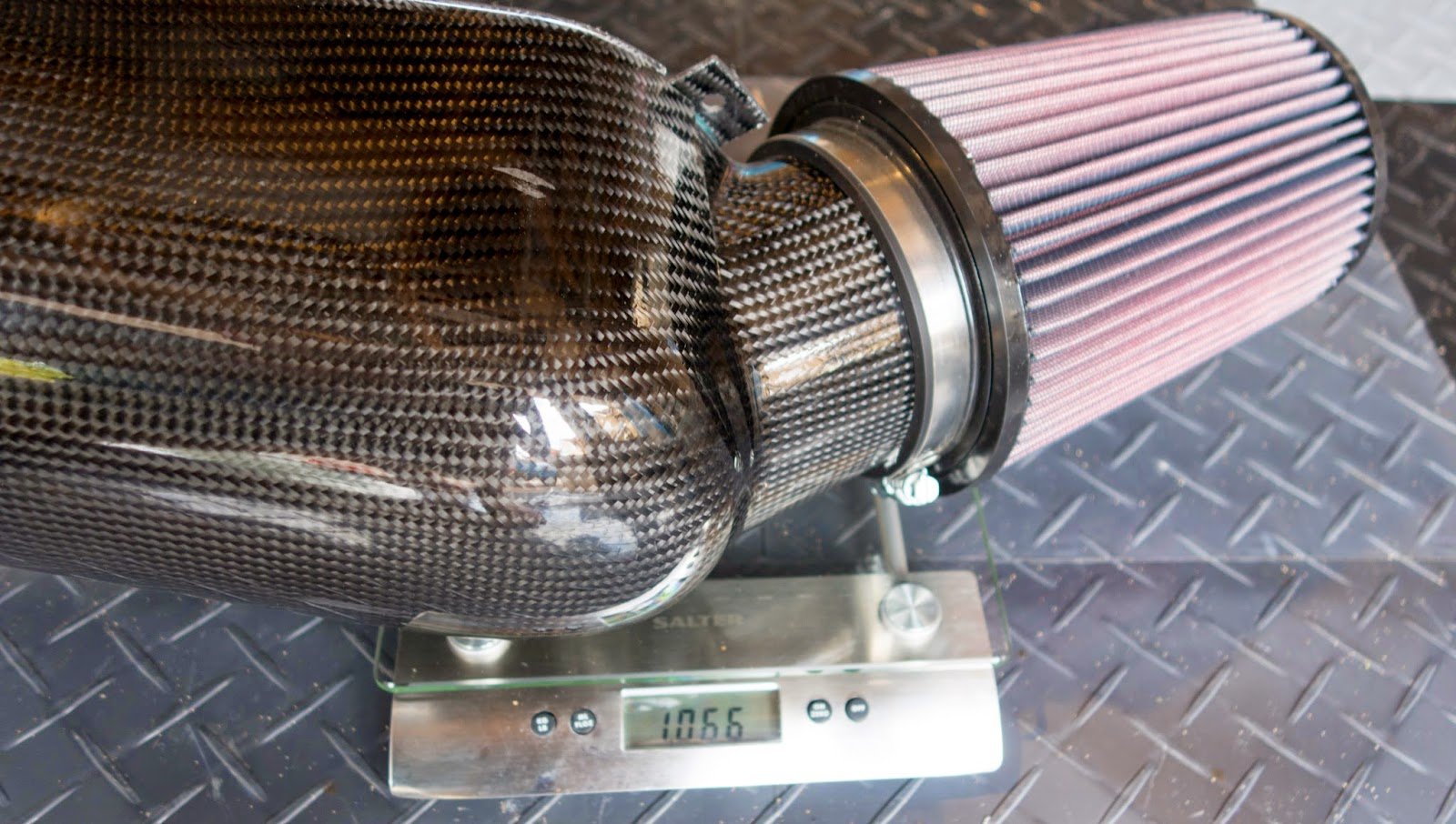 Caterham Carbon Track Day Airbox - weighs 1.06kg