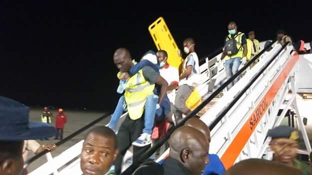 FB IMG 1518510101691 - Photos: Fifth batch of Libyan Returnees arrive in Port Harcourt