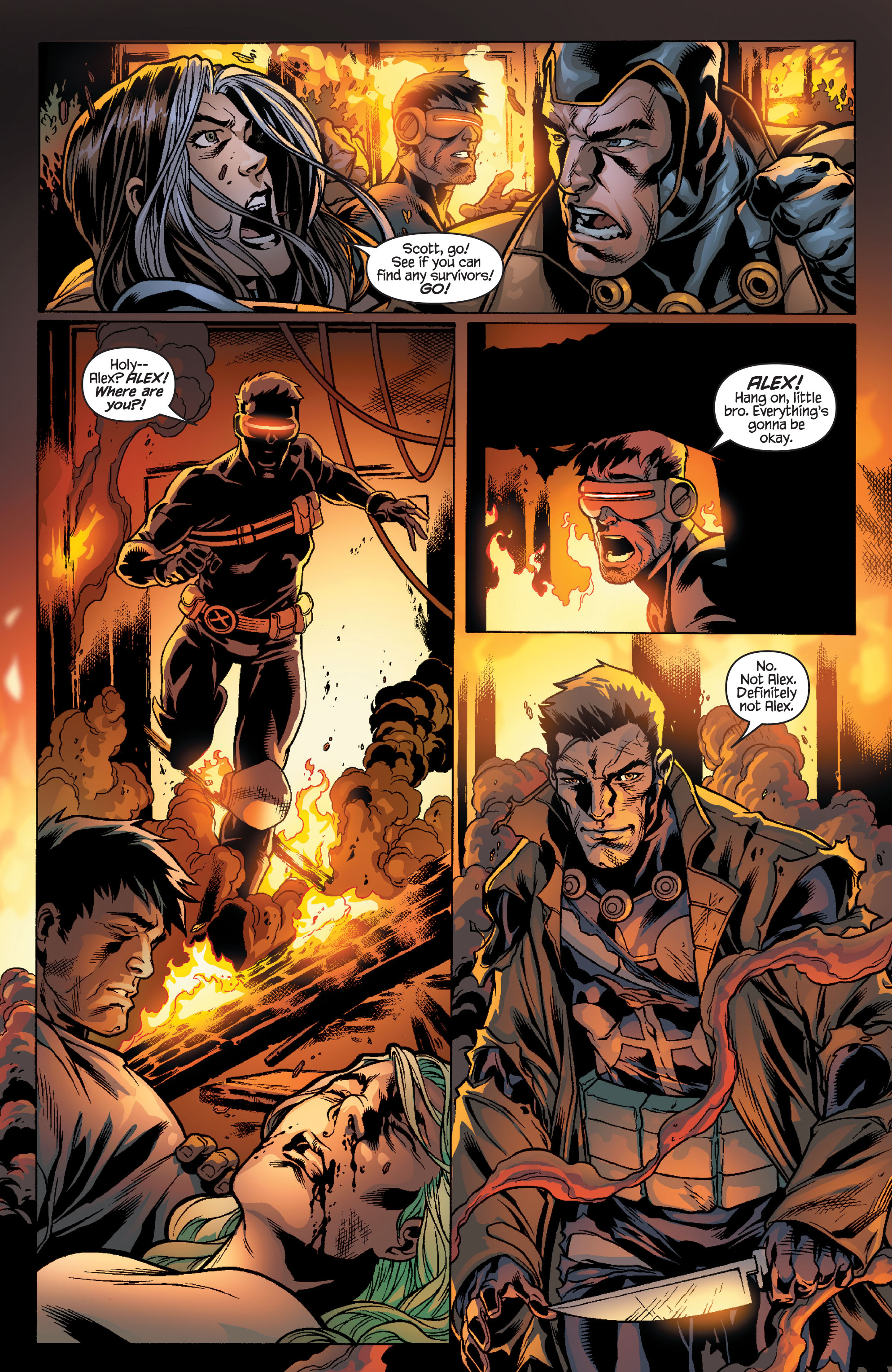 Read online Ultimate X-Men comic -  Issue #100 - 12