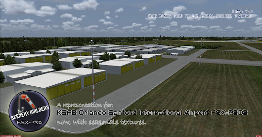 KSFB Orlando Sanford International Airport FSX-P3D3