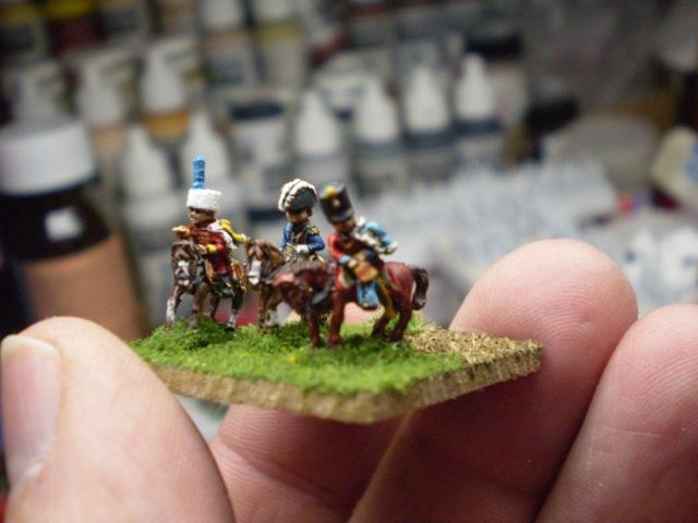 Painting 6mm Napoleonics