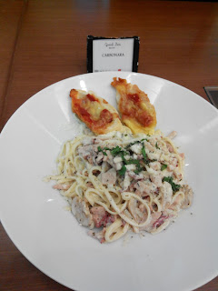 Carbonara ala Grand Zuri BSD City