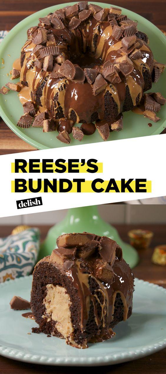 Reese's Bundt Cake