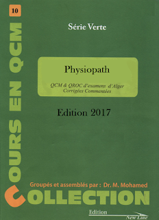 serie verte PHYSIOPATHOLOGIE Edition 2017 PDF P