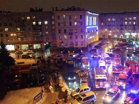 Έκρηξη σε σουπερμάρκετ στην Αγία Πετρούπολη
