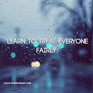 Learn to Treat People Fairly
