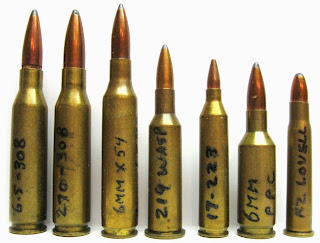 Wildcat Cartridges Chart