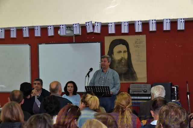 Παρουσίαση του βιβλίου για τον Στέφο Αλεξανδρίδη στην Ερμιονίδα