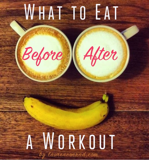 Pre Workout and Post Workout Food Habits