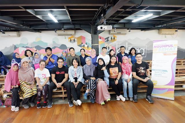 ngumpul sehat bareng medialogy untuk dukung bersama asian games 2018