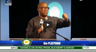 Peter Obi's SPEECH at Platform!