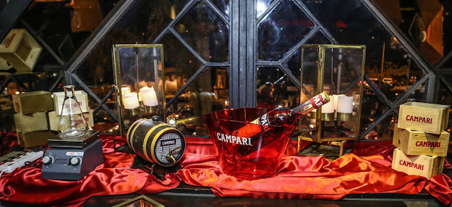 "Aspri Spirits hosted an exclusive evening with ""Campari Aged Boulevardier"""