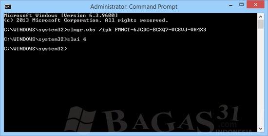 Aktivasi Windows 8.1 Permanen Bagas31