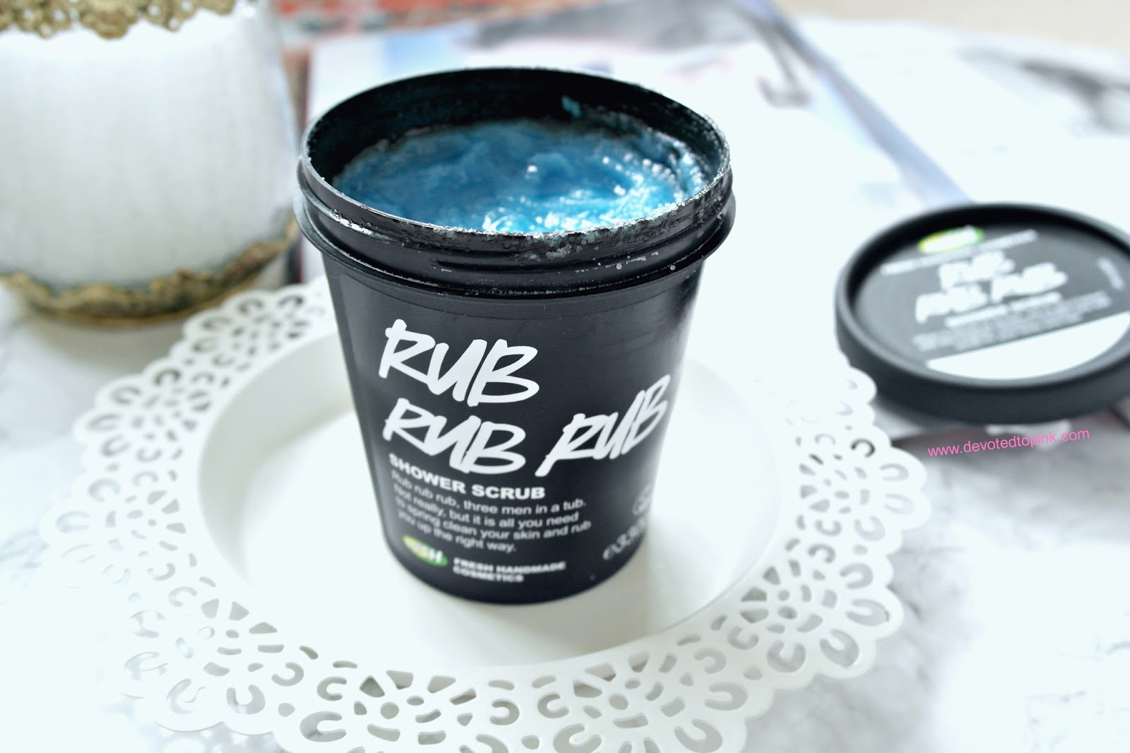 lush rub rub rub review, beauty blogger