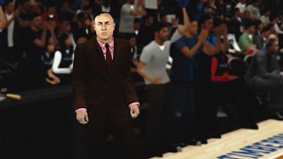 NBA 2K13 Rick Adelman Cyberface Patch