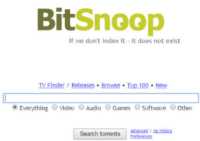 bitsnoop popular torrent client