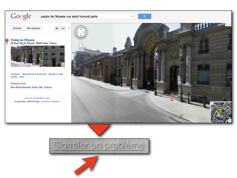 comment faire flouter une photo de sa maison sur google. Black Bedroom Furniture Sets. Home Design Ideas