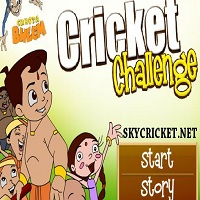 Play Chhota Bheem Cricket Challenge Game
