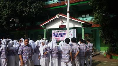 Edufair Tahun 2018 di SMAN 110 Jakarta