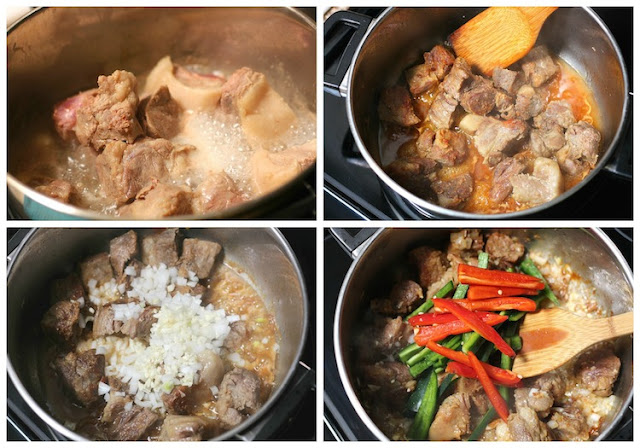 Pork in tomato sauce recipe