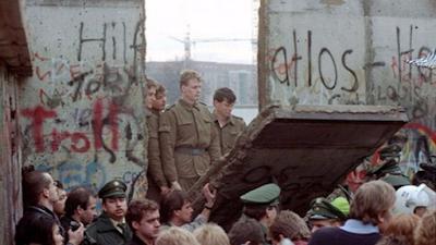 La caída del muro puso fn a la división de Alemania . foto RPP