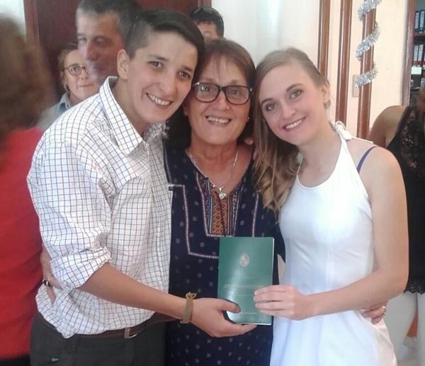 Maria Virginia Quian y Lucia Zapata