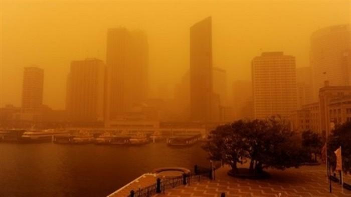 عااجل..... عاصفة ترابية تضرب القاهرة