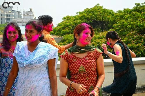 Holi; the festival of colors to welcome spring