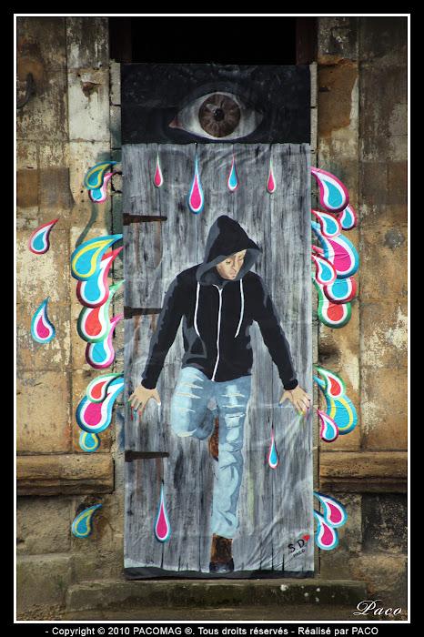 Art Urbain à Sedan Faubourg du Menil