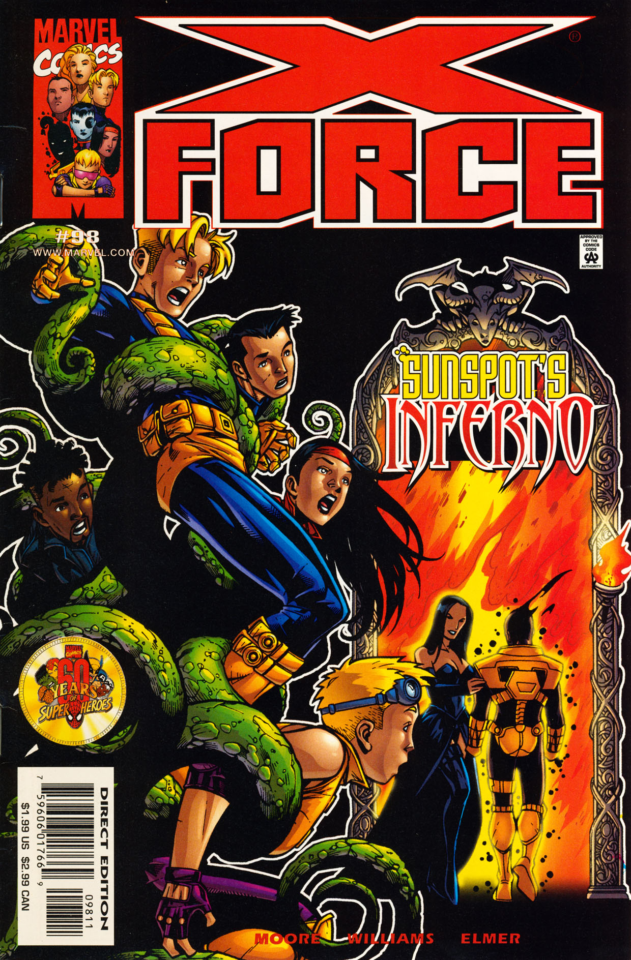X-Force (1991) 98 Page 1