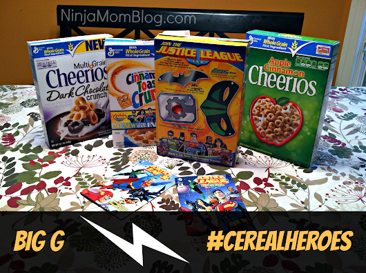 Every kid needs a super hero origin story #CerealHeroes