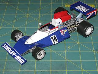 BRM P201 - Bob Evan - Spanish GP 1975 Spinler