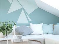 Wandgestaltung Wohnzimmer Dachschräge