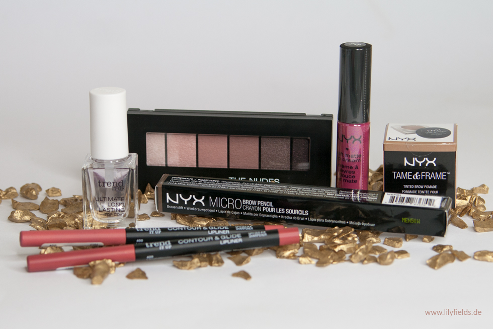 trend it up und NYX Haul