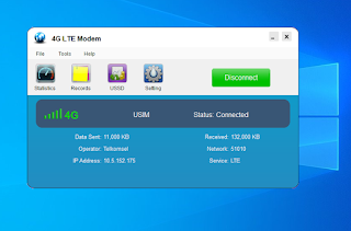 Cara Install Modem Telkomsel 4G LTE