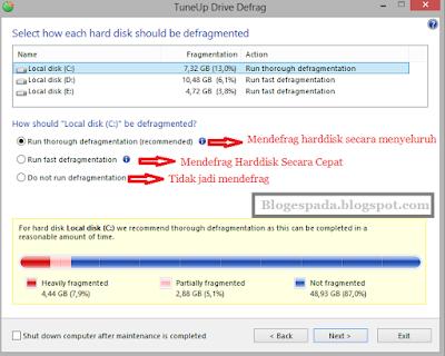 Cara Defrag Hardisk Menggunakan TuneUp Utilities 20