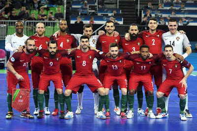 O INDEFECTÍVEL  Portugal Campeão Europeu de Futsal 65acd661f78f5