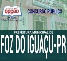 Apostila Concurso Prefeitura de Foz do Iguaçu 2018